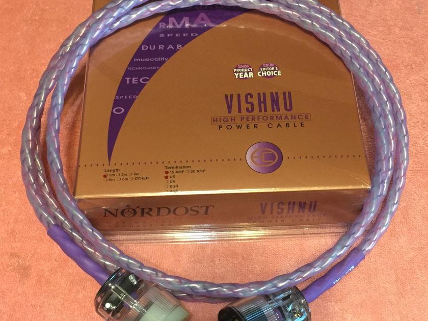 Nordost Vishnu power cord, 2m 30-day warranty