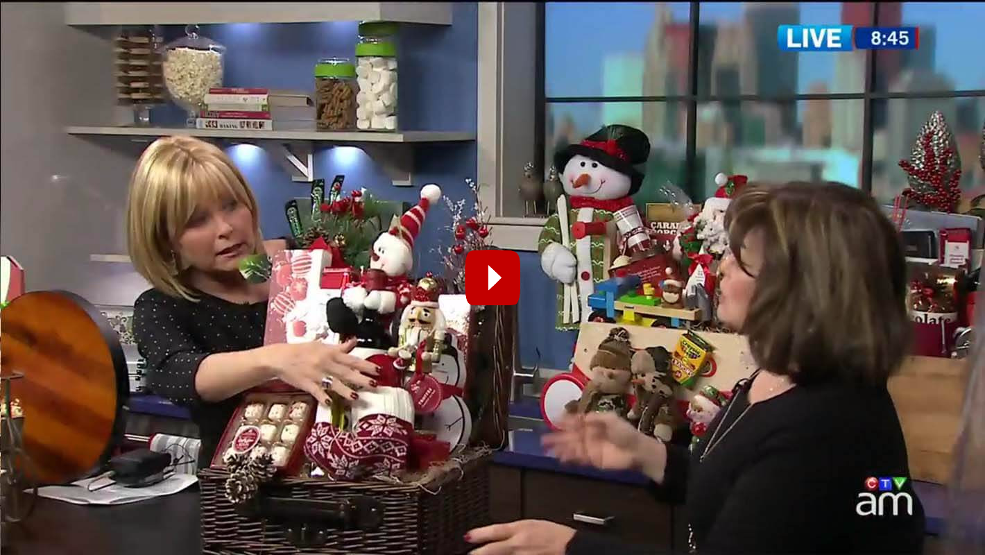 CTV News How to Make a Christmas Gift Basket