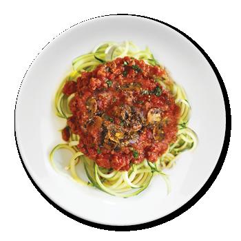 Beef Bolognese & Spaghetti Squash