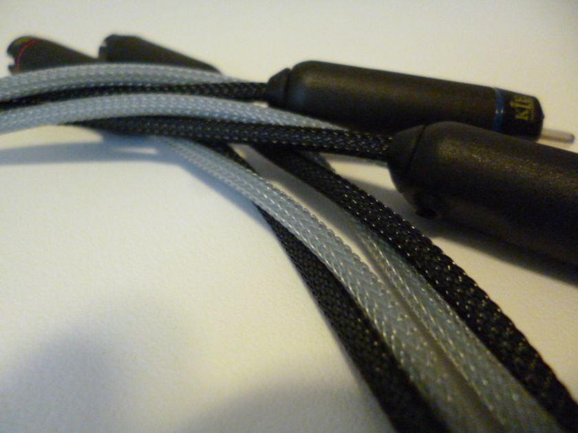 "Schmitt Custom Audio Cables KLE/47 Labs RCA Interconnects 30"", 1pr"