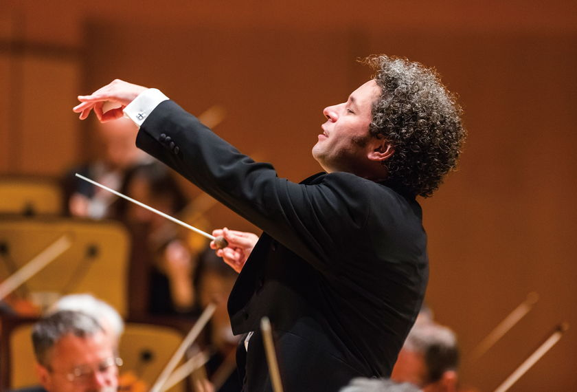 Dudamel Conducts Norman & Prokofiev artwork