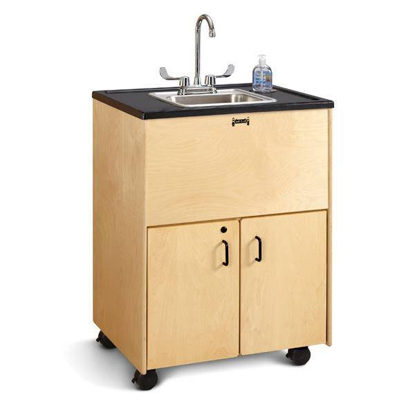 Jonti-Craft 1370JC Clean Hands Helper Portable Sink Hand Washing Station
