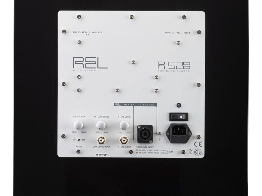 REL Acoustics 528 Subwoofer