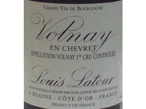 Louis Latour Volnay en Chevret 1er Cru 2012 from the Randolph Cellar - WE 92