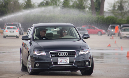 Audi Car Club Chicagoland Teen Car Control Clinic