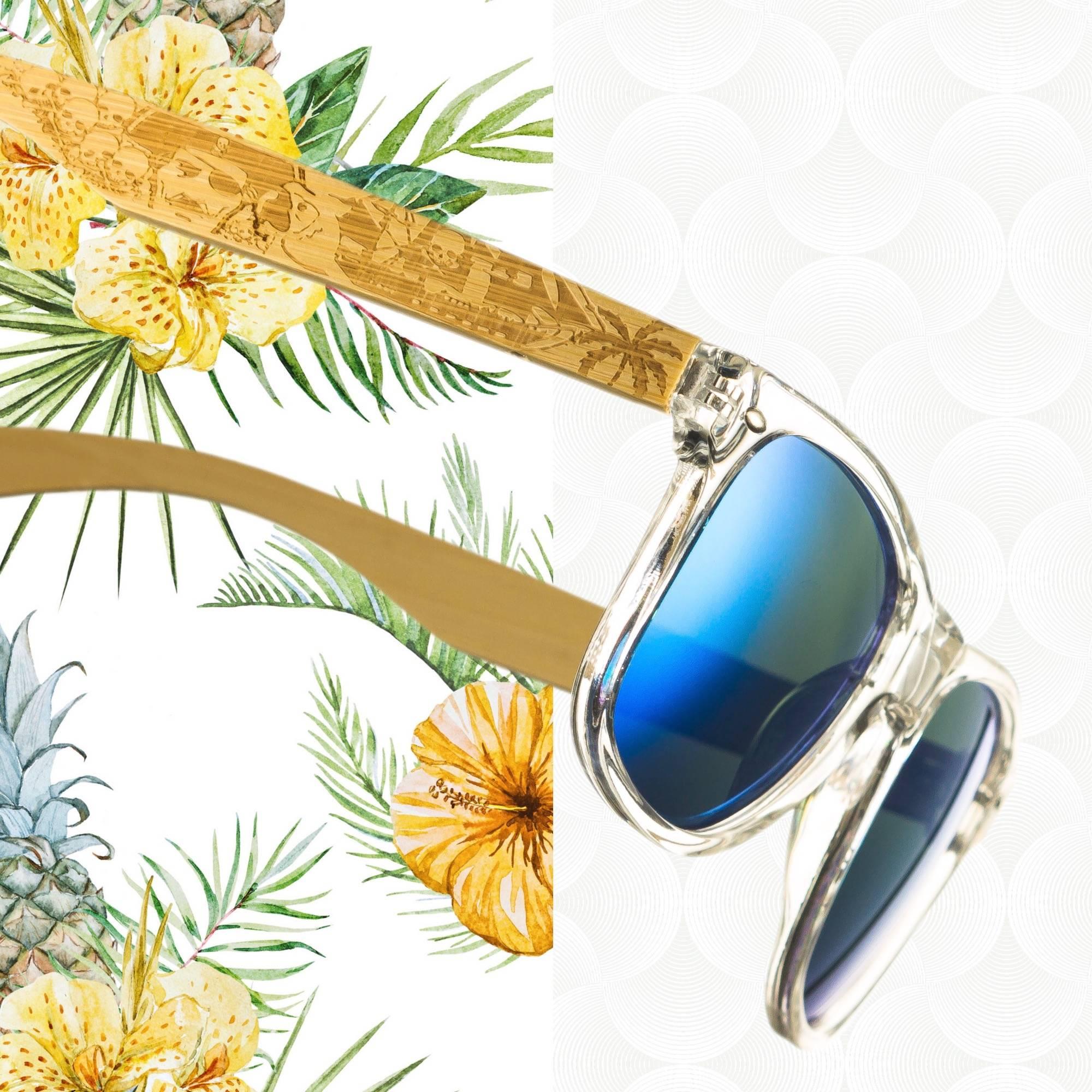 Cali Life Co. Wood Sunglasses