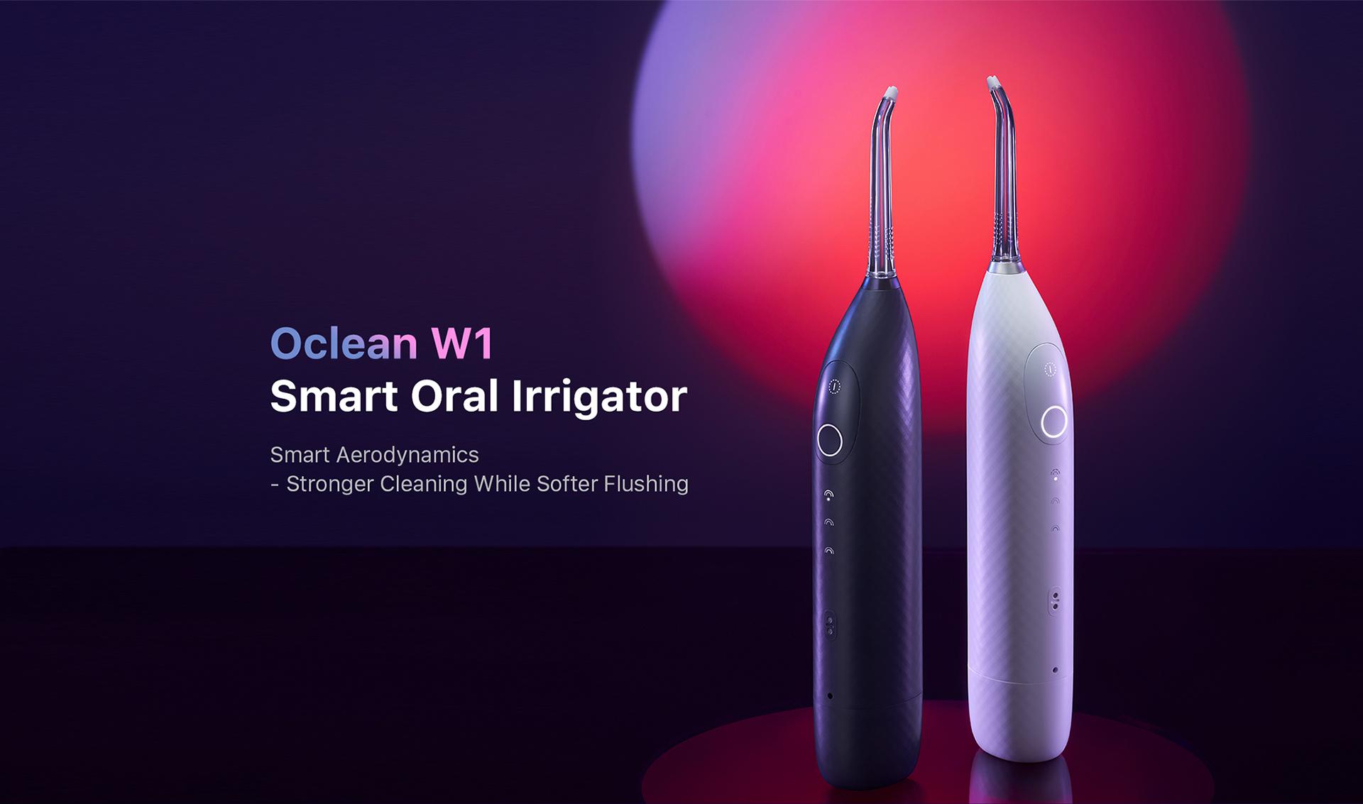 oclean W1 smart oral Irrigator
