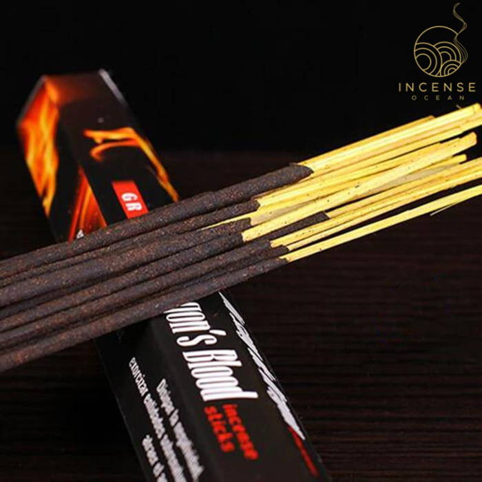 Dragon's Blood Incense Sticks - 6 Box Pack