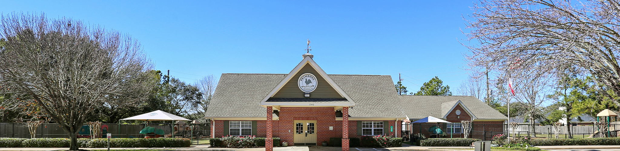 Exterior of a Primrose School of Cinco Ranch