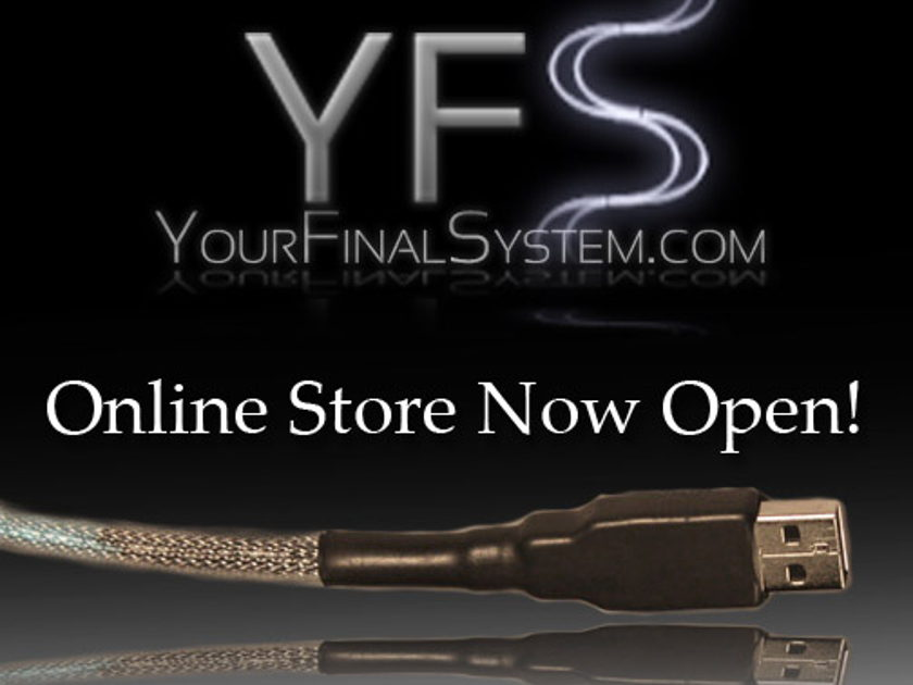 YFS USB V2  - 1m USB 2.0 Audiophile Cable - NEW!!! Free Shipping!