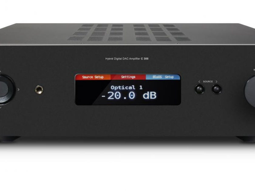 NAD C 388BluOS DAC/Amplifier, Now Streaming MQA!