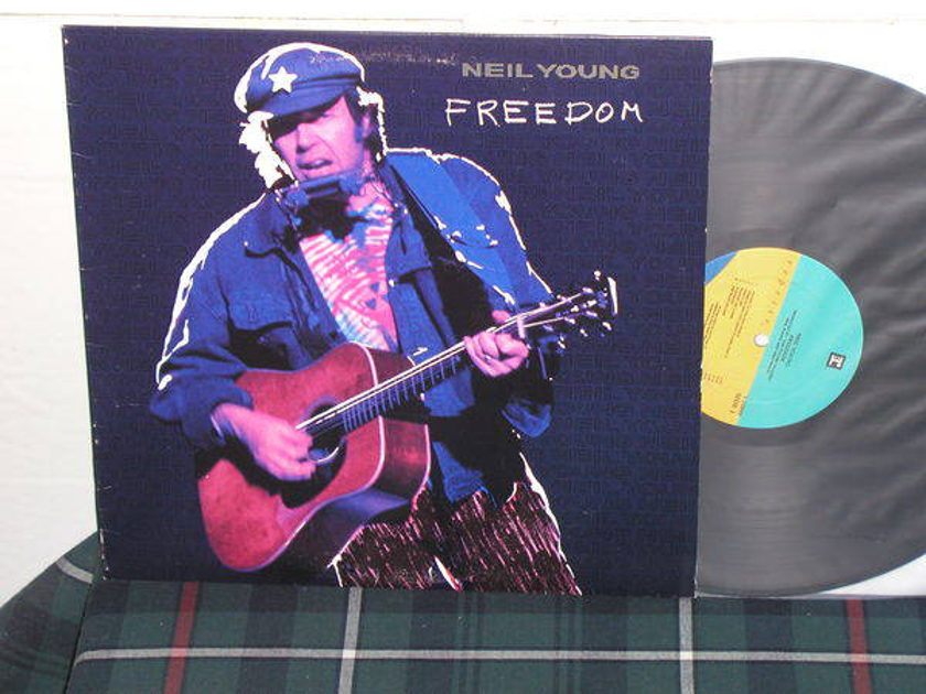 Neil Young - Freedom (pics) Reprise from 1989