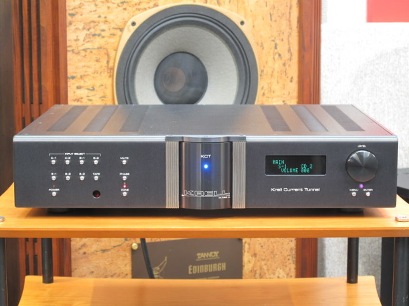 Krell Reference KCT Cast Stereo Preamp near San Francisco.........