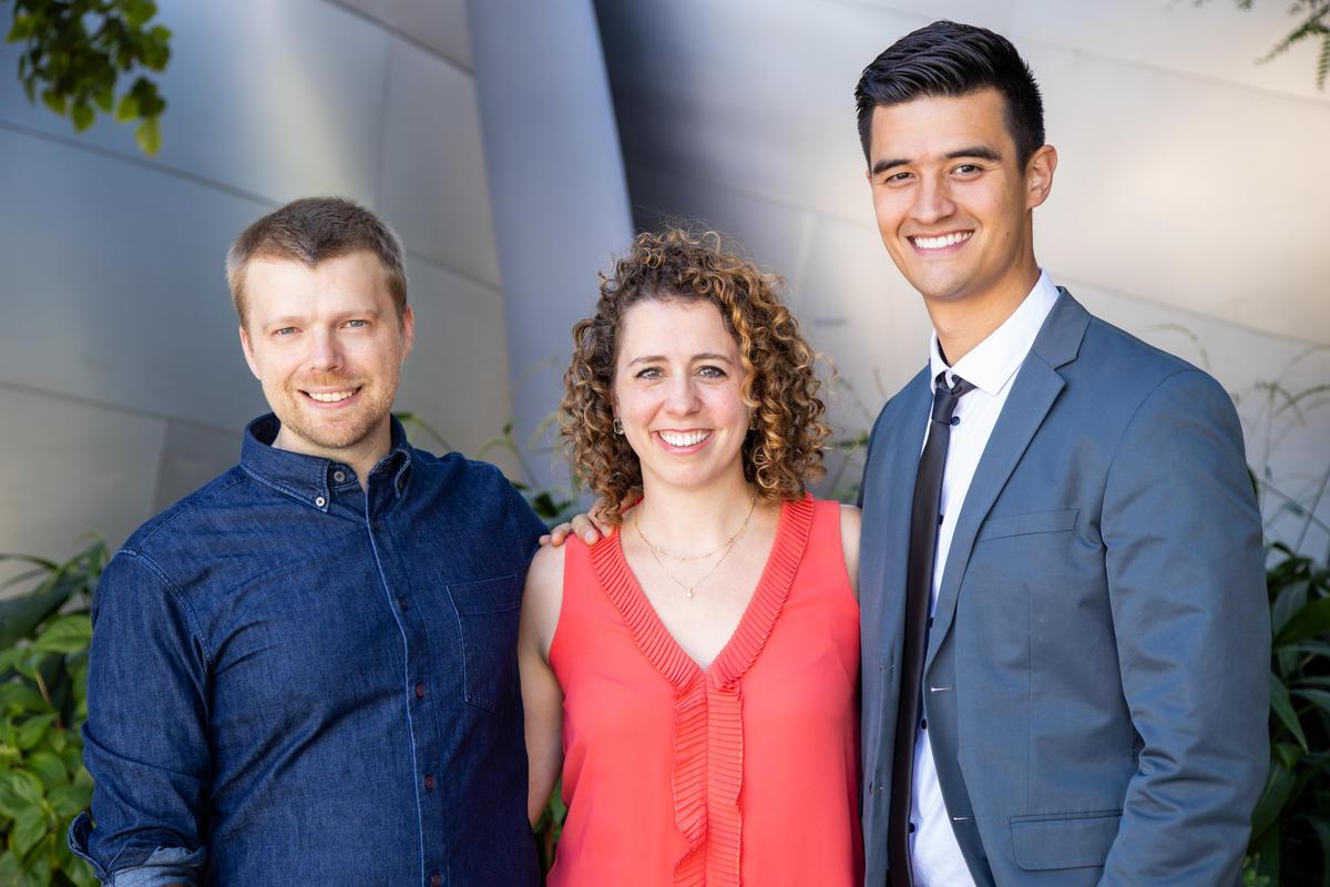Beca de compositor Artistas docentes Andrew Norman, Sarah Gibson y Thomas Kotcheff