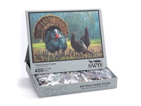 400-Piece NWTF Puzzle - Turkey Country by Ryan Kirby