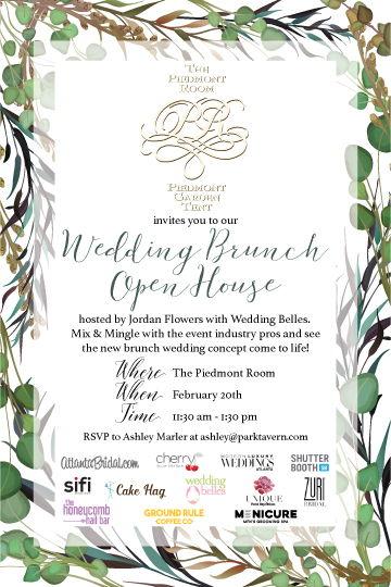 Wedding Brunch Open House