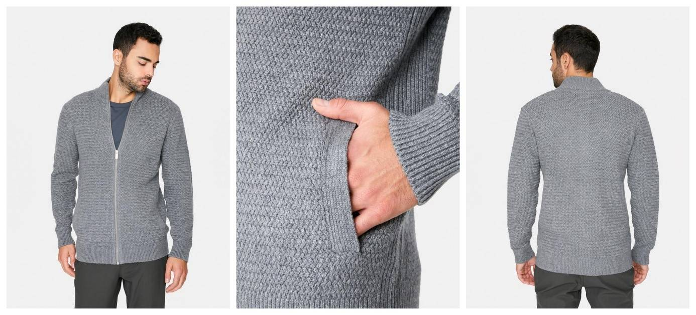 Yosemite Knit Zip Sweater