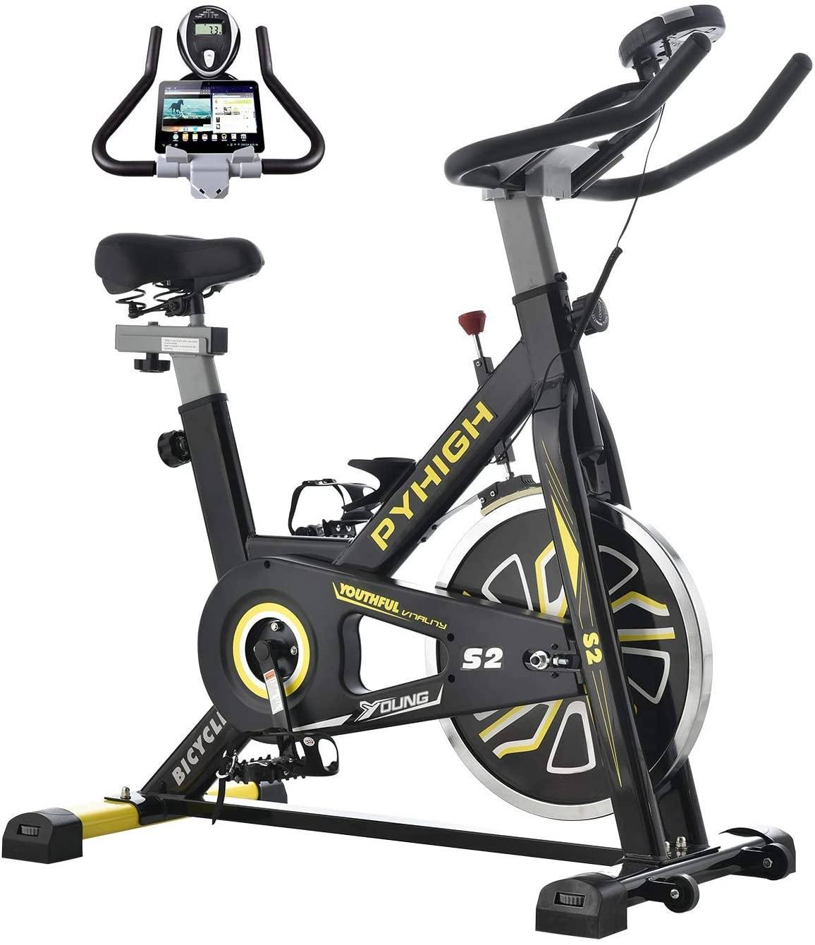 pyhigh stationary spin bike