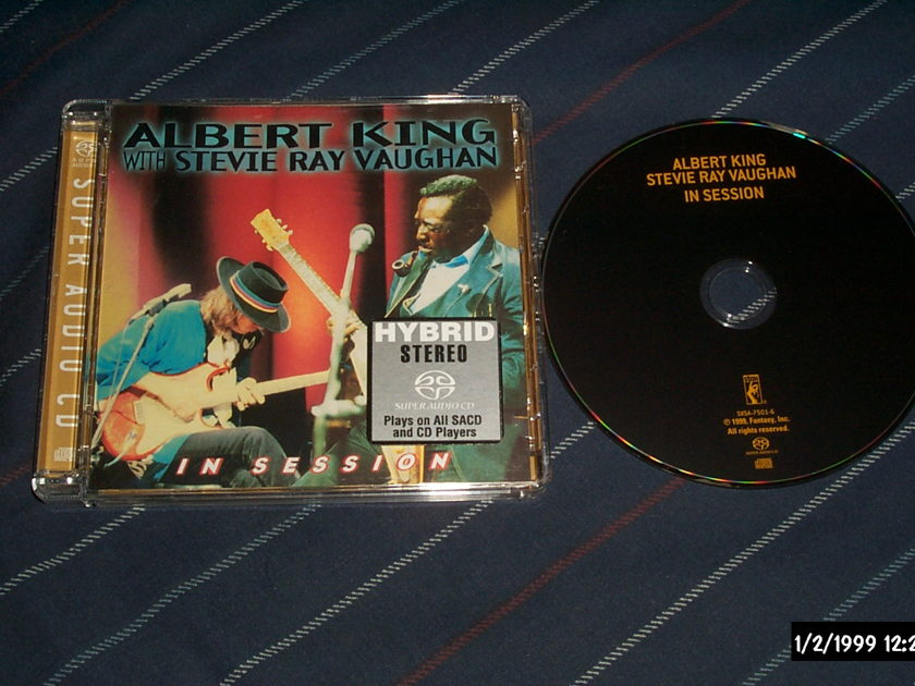 Stevie Ray Vaughan - Albert King In Session SACD hybrid NM
