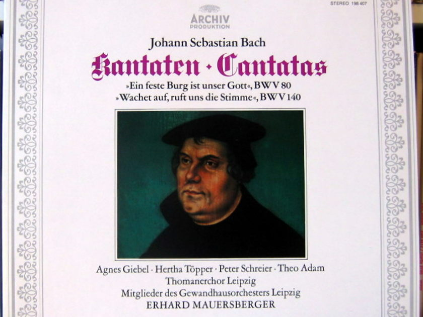 J. S Bach: Cantatas - BWV 80 & 140 arkiv