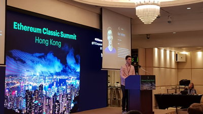 Alan Verbner speaking at ETC Summit