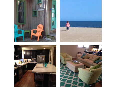 Four Nights in North Ocean City Beach House - Sleeps 10