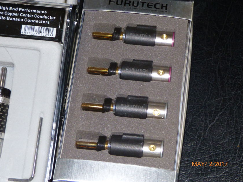 Military Nuclear Systems Cable W/Furutech Ends 8 Foot Set With Spades Or Bananas Cable Sense 101 Discussion