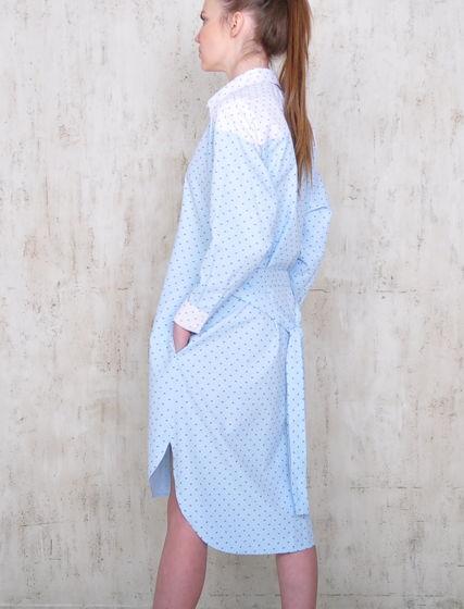 Платье-рубашка Mainaim из хлопка
