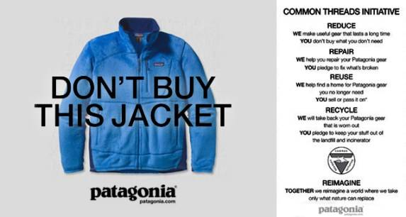 Patagonia advertising from 2017