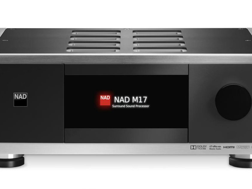 NAD Masters Series M17 AV Surround Preamp Processor with free 4K Upgrade Module