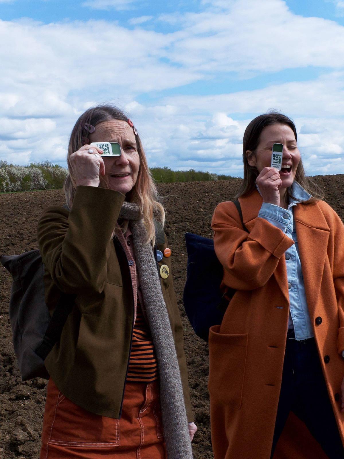 Fawnda Denham and Alison Lloyd