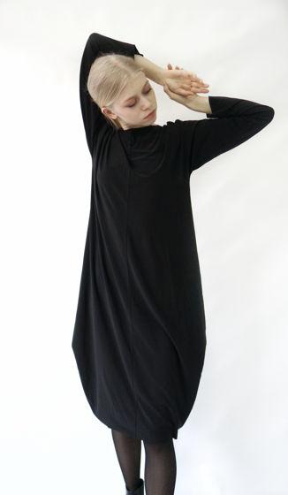 Платье ромб-трансформер   черный