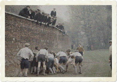 The Wall Game at Eton College