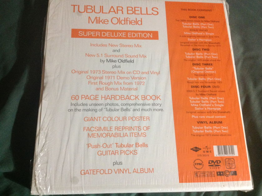 Mike Oldfield - Tubular Bells Signed  Limited Box Set LP