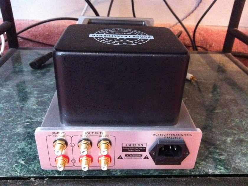 Grant Fidelity tube preamp with phono