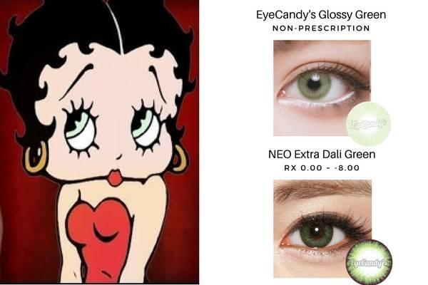 Betty Boop's Green Eyes