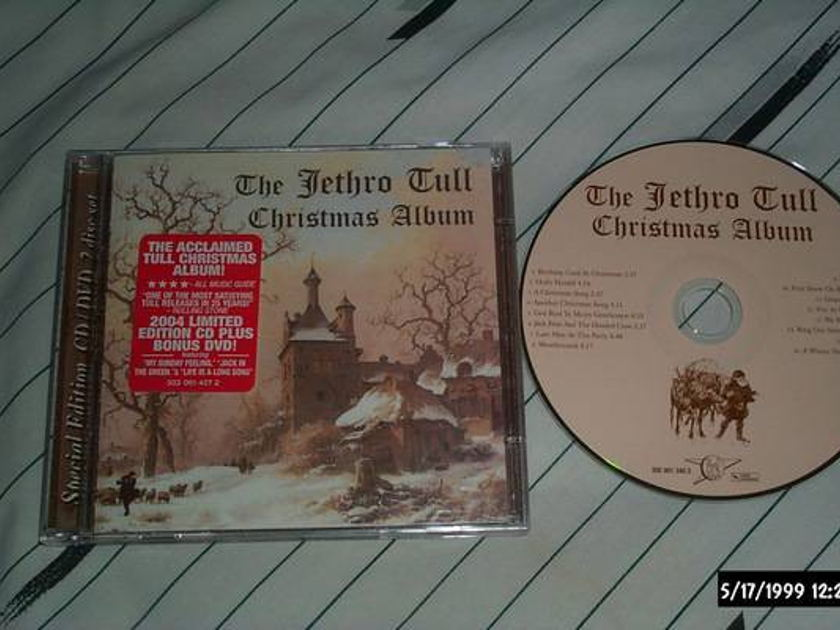 Jethro tull - Christmas Album cd/dvd