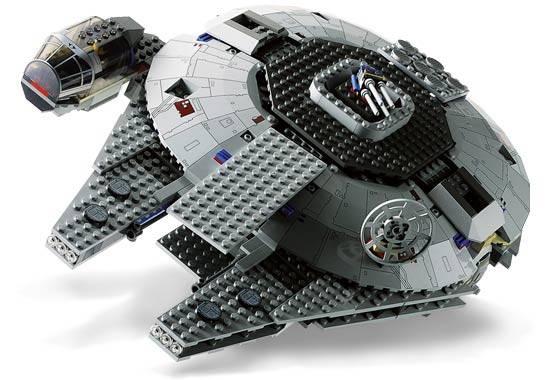 7190 Millennium Falcon kit