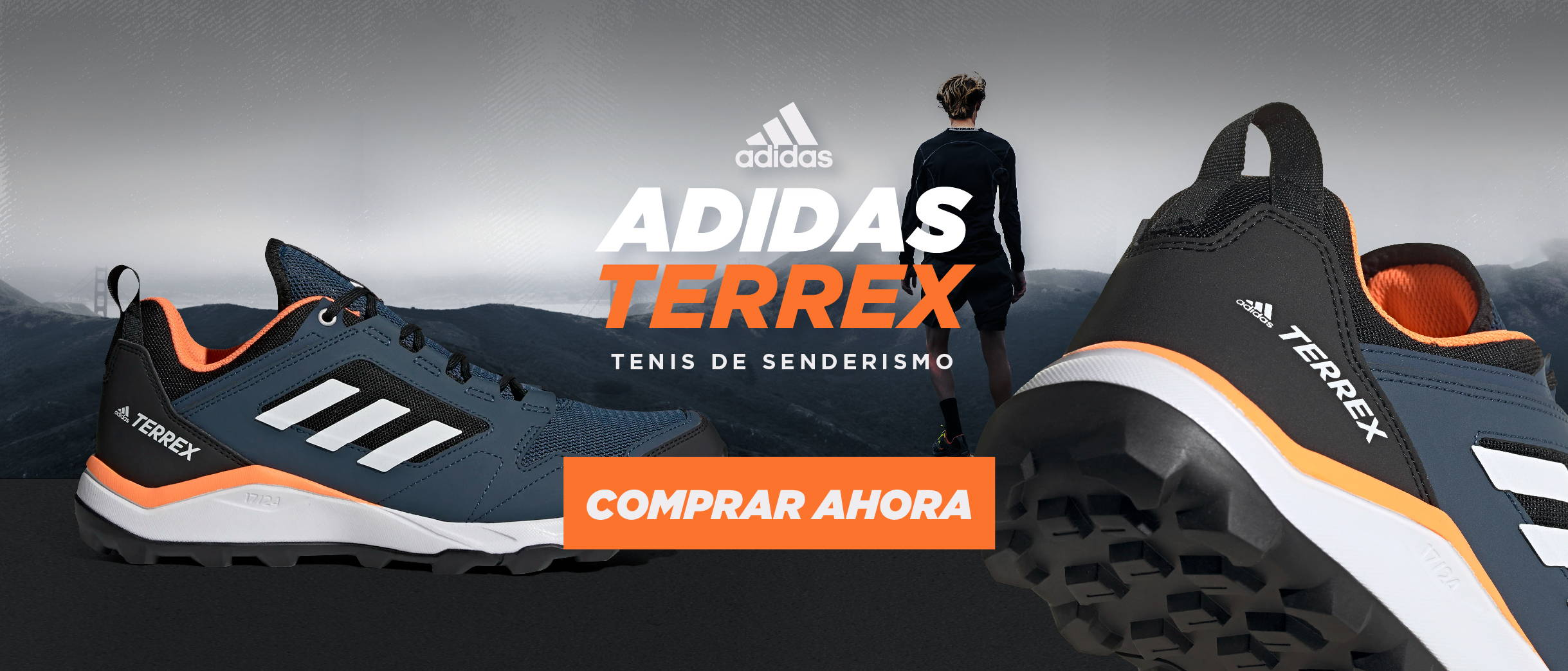 Adidas Terrex Tenis de senderismo Runner