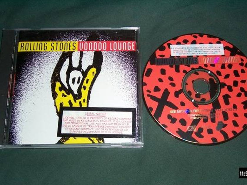Rolling stones - Promo Cd Voodoo lounge nm