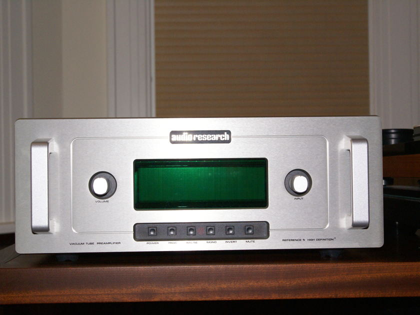 Audio Research Ref-5 Preamplifier
