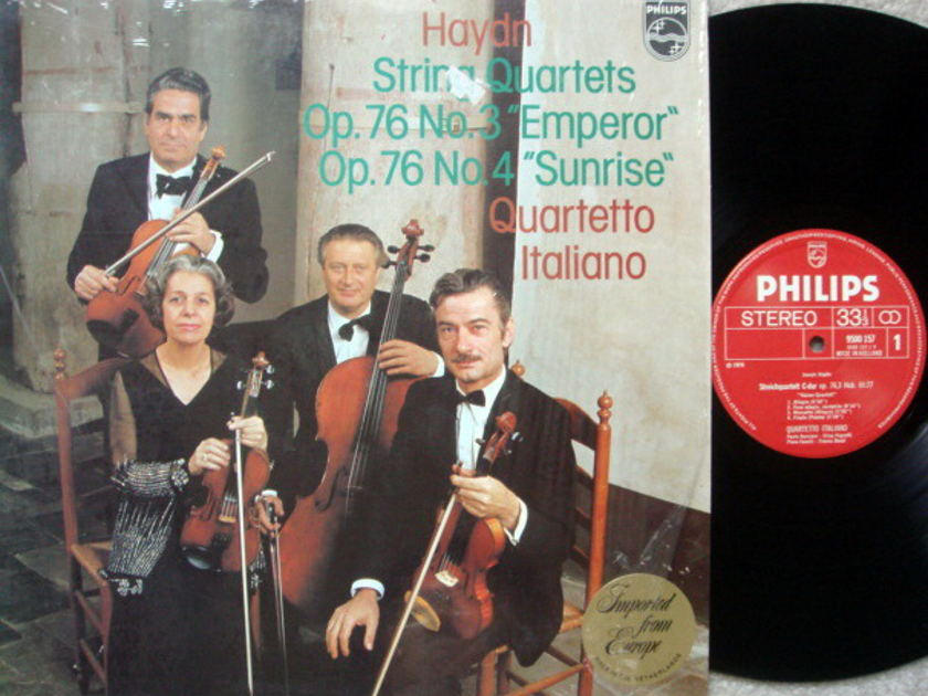 Philips / QUARTETTO ITALIANO, - Haydn String Quartets No.3 & 4,  NM!