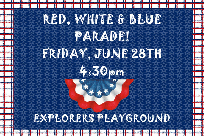 Red, White & Blue Parade!