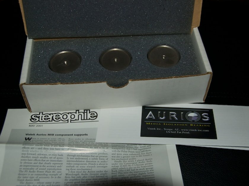Aurios MIB 1.1 Isolation Bearings