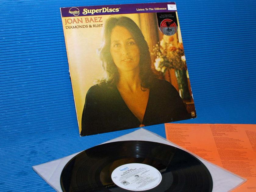 "JOAN BAEZ - - ""Diamonds & Rust"" - Nautilus Super Disc -dbx 1980"