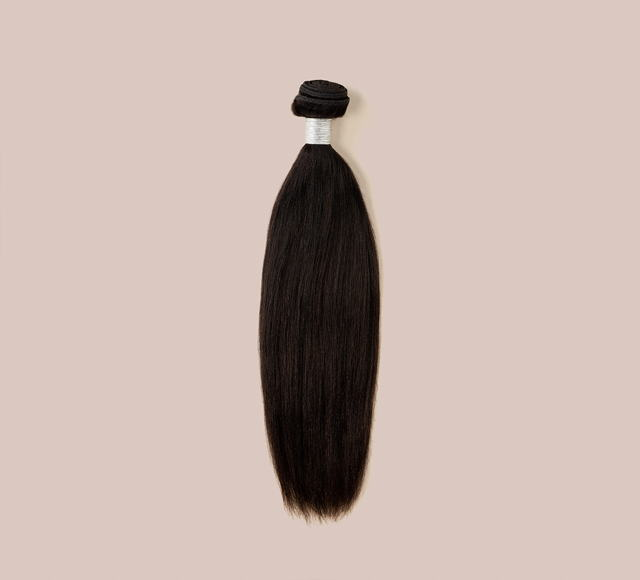 Yaki Straight Natural Black Bundles Mayvenn