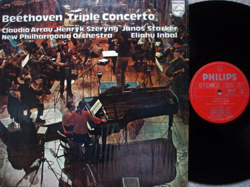 Philips / STARKER-SZERYNG-ARRAU, - Beethoven Triple Concerto, MINT!