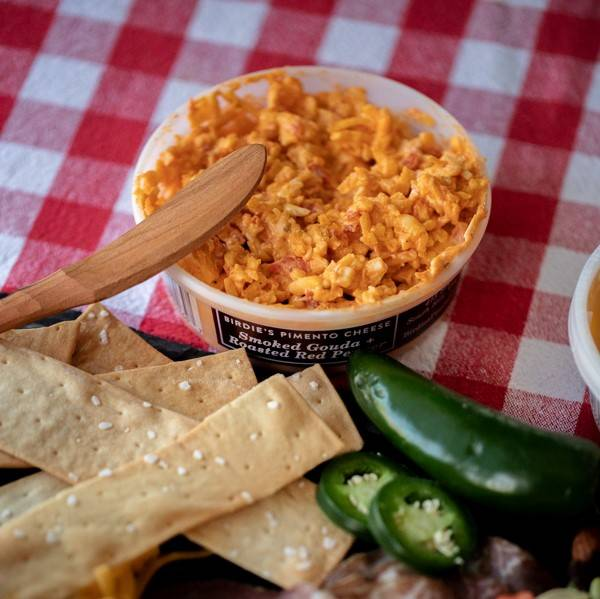 Bidie's Pimento Cheese - Smoked Gouda + Roasted Red Pepper Pimento Cheese
