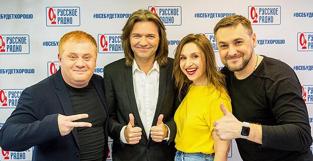 Дмитрий Маликов дал живой концерт в «Золотом микрофоне» на «Русском Радио» - Новости радио OnAir.ru