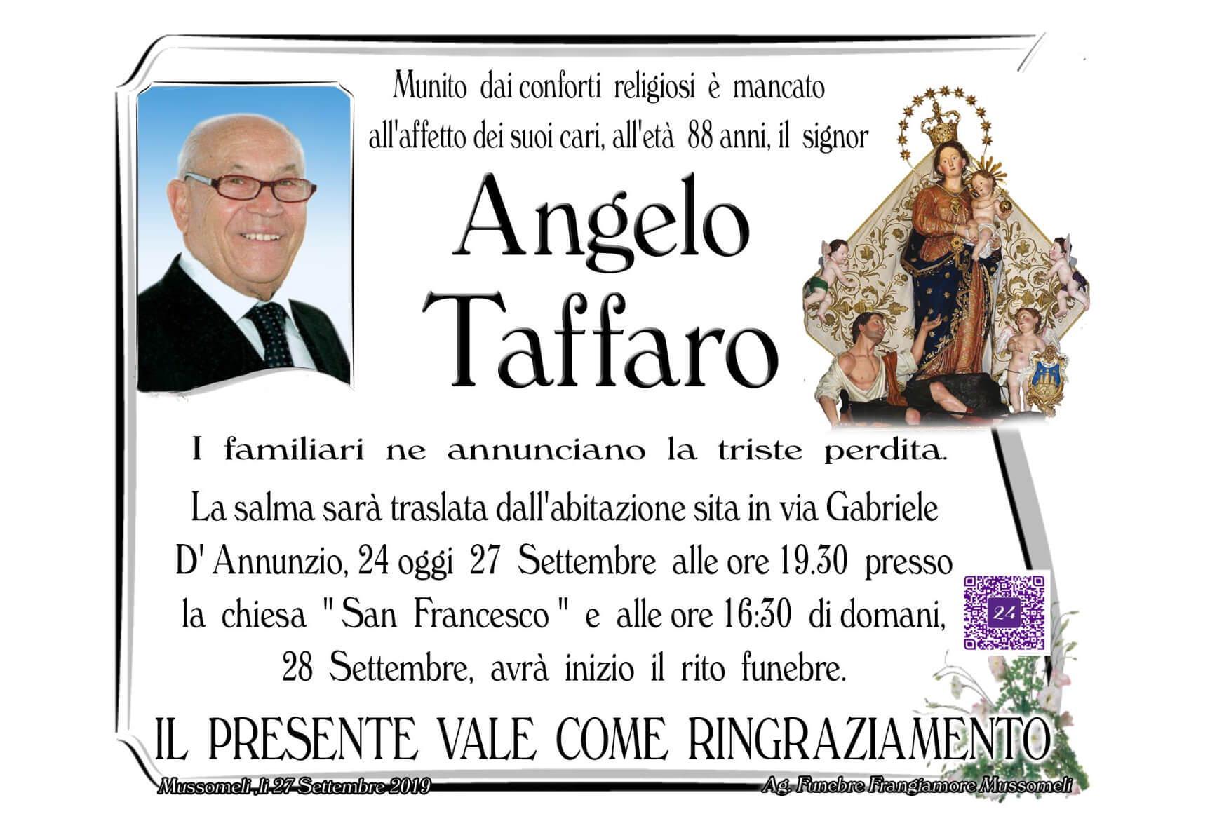 Angelo Taffaro